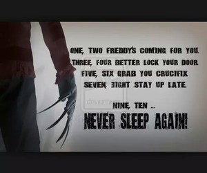 Freddy, movie, and scary image