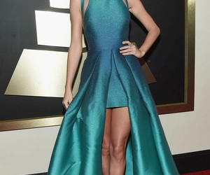 Taylor Swift, dress, and grammys image
