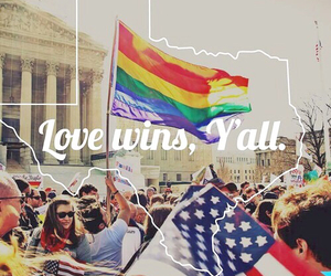 gay, love wins, and lovewins image
