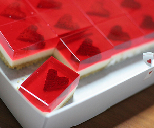 heart, food, and cake image