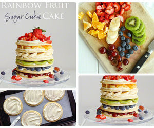 fruit, diy, and cake image