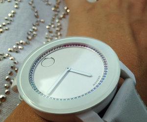 crystals, time, and movado image