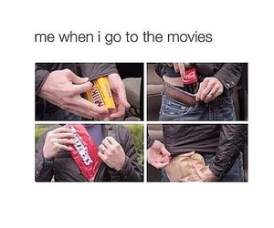 funny, heart, and movie image