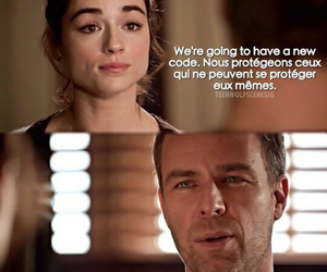teen wolf, allison argent, and chris argent image