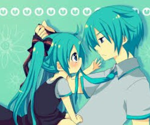 chibi, kaito, and vocaloid image