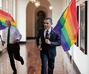 obama, love wins, and barack obama image
