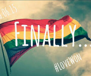 equality, finally, and gay image