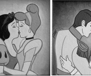 gay, disney, and lesbian image