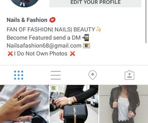 account, shoes, and instagram image