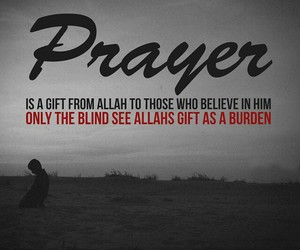allah, burden, and blind image