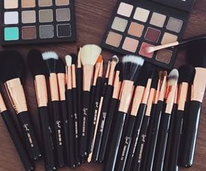 makeup and Brushes image
