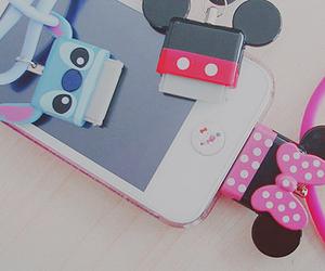 iphone, disney, and stitch image