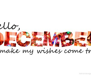 december, wish, and hello image