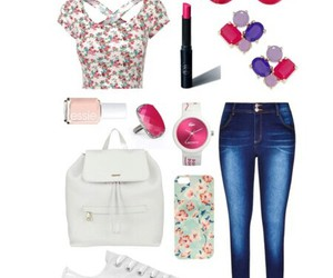 accessories, beauty, and converse image