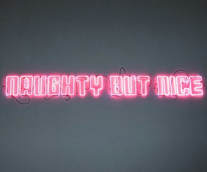 pink, naughty, and neon image