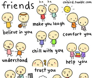friends and friendship image
