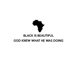 africa, black, and beautiful image