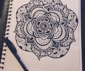 doodles, draw, and drawing image