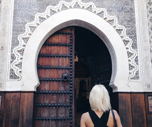 girl, travel, and style image