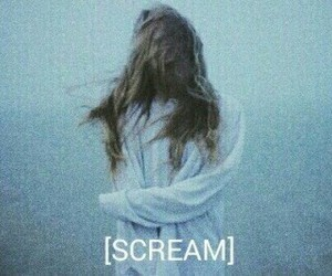 scream, grunge, and girl image