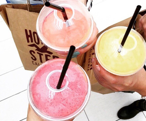 drinks, shopping, and smoothies image