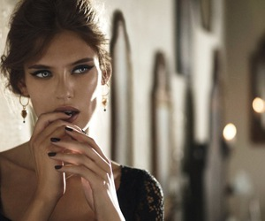 model, Bianca Balti, and beauty image