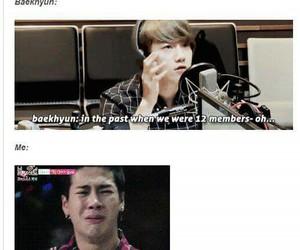 exo, jackson, and baekhyun image