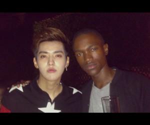 exo, wu yi fan, and kris image