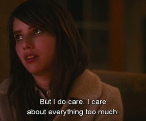 care, emma roberts, and quotes image