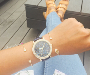 arm candy, autumn, and blue image