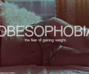 depressed and obesophobia image