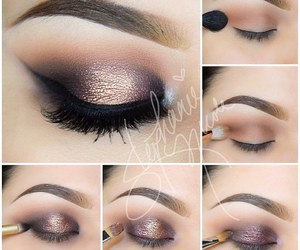 makeup, beauty, and tutorial image