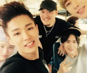 uniq, wenhan, and yibo image
