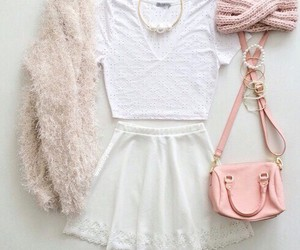 outfit, style, and pink image