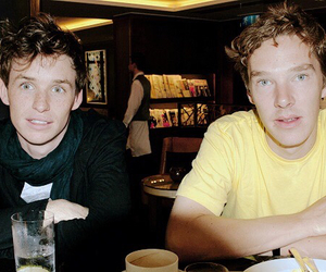 eddie redmayne and benedict cumberbatch image