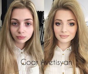 before after, makeup, and girls image