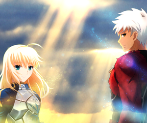 archer and saber image