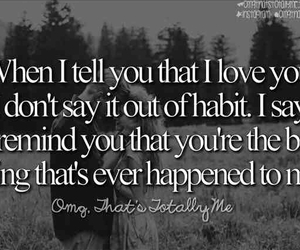 I Love You, life, and true quotes image