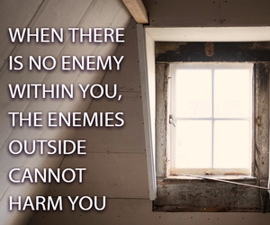 enemy, inside, and outside image