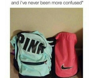 pink, funny, and lol image