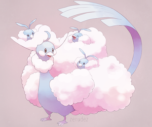 pokemon, swablu, and altaria image