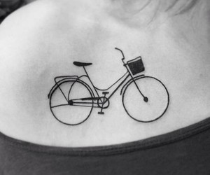 bike and tattoo image