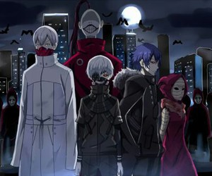 anime, tokyo ghoul, and aogiri image
