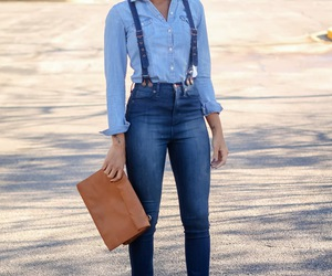 jeans and street style image