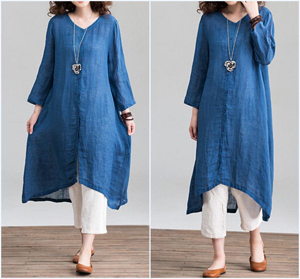 dresses, shirt dress, and large size dress image