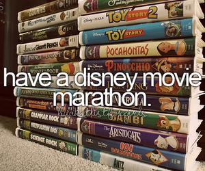 disney, bucket list, and movie image