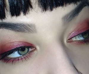 eyes, grunge, and pale image
