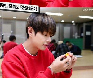 v, kim taehyung, and 뷔 image