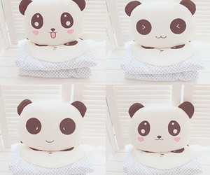 doll, panda, and kawaii image