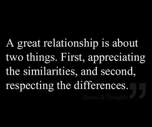 Relationship, quotes, and difference image
